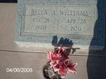 WILLIAMS, HELEN A. - Gila County, Arizona | HELEN A. WILLIAMS - Arizona Gravestone Photos