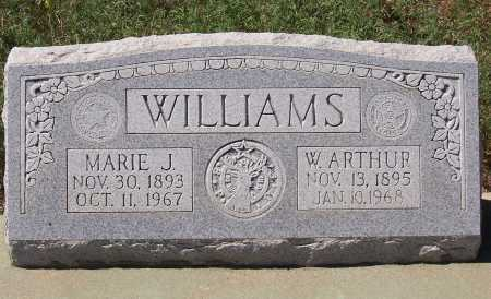 WILLIAMS, W. ARTHUR - Gila County, Arizona | W. ARTHUR WILLIAMS - Arizona Gravestone Photos
