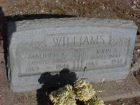 WILLIAMS, MATILDA K. - Gila County, Arizona | MATILDA K. WILLIAMS - Arizona Gravestone Photos