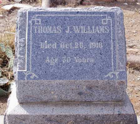 WILLIAMS, THOMAS J. - Gila County, Arizona   THOMAS J. WILLIAMS - Arizona Gravestone Photos