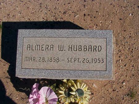 HUBBARD, ALMIRA - Graham County, Arizona   ALMIRA HUBBARD - Arizona Gravestone Photos