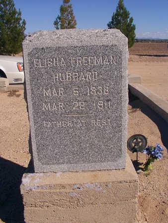 HUBBARD, ELISHA - Graham County, Arizona   ELISHA HUBBARD - Arizona Gravestone Photos