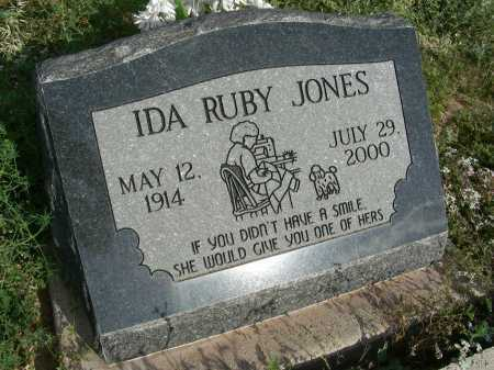 JONES, IDA RUBY - Graham County, Arizona | IDA RUBY JONES - Arizona Gravestone Photos