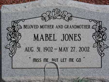 JONES, MABEL - Graham County, Arizona | MABEL JONES - Arizona Gravestone Photos