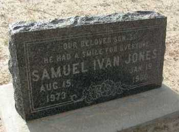 JONES, SAMUEL IVAN - Graham County, Arizona | SAMUEL IVAN JONES - Arizona Gravestone Photos