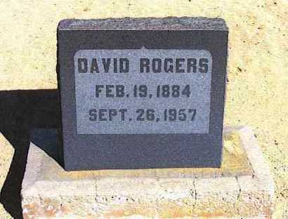 ROGERS, DAVID - Graham County, Arizona | DAVID ROGERS - Arizona Gravestone Photos