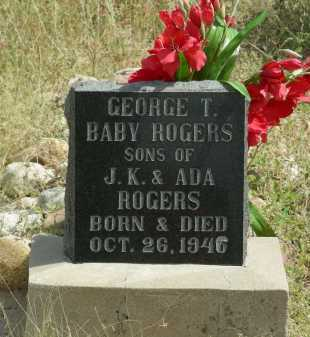 ROGERS, BABY - Graham County, Arizona | BABY ROGERS - Arizona Gravestone Photos