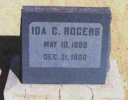 ROGERS, IDA CATHERINE - Graham County, Arizona | IDA CATHERINE ROGERS - Arizona Gravestone Photos