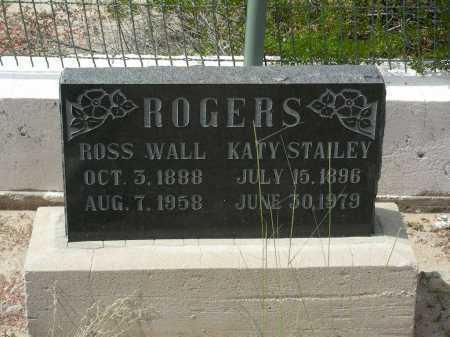 STAILEY ROGERS, KATY - Graham County, Arizona | KATY STAILEY ROGERS - Arizona Gravestone Photos