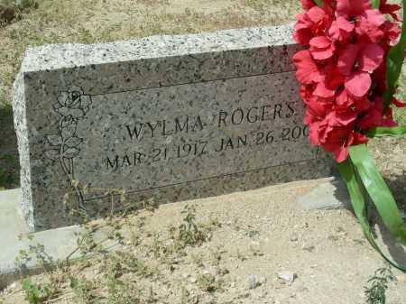ROGERS, WYLMA - Graham County, Arizona | WYLMA ROGERS - Arizona Gravestone Photos