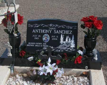 SANCHEZ, ANTHONY (TONY) - Graham County, Arizona | ANTHONY (TONY) SANCHEZ - Arizona Gravestone Photos