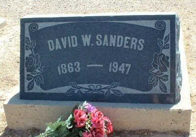 SANDERS, DAVID W. - Graham County, Arizona | DAVID W. SANDERS - Arizona Gravestone Photos