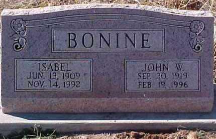 BONINE, ISABEL - Greenlee County, Arizona | ISABEL BONINE - Arizona Gravestone Photos