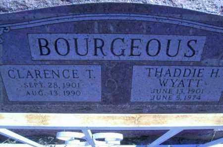 BOURGEOUS, THADDIE HAIDEN - Greenlee County, Arizona | THADDIE HAIDEN BOURGEOUS - Arizona Gravestone Photos