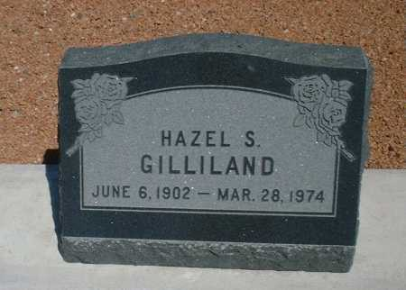 GILLILAND, HAZEL SOPHRONIA - Greenlee County, Arizona | HAZEL SOPHRONIA GILLILAND - Arizona Gravestone Photos