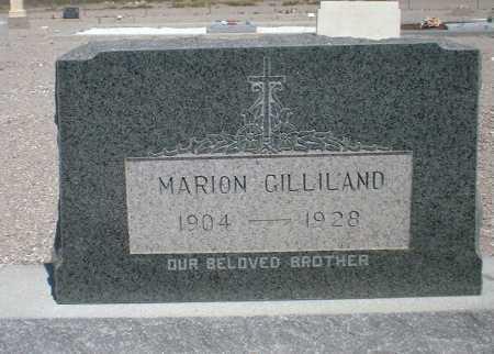 GILLILAND, MARION - Greenlee County, Arizona | MARION GILLILAND - Arizona Gravestone Photos