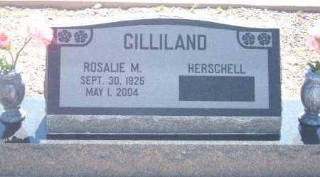 KENNEDY GILLILAND, ROSALIE MARTHA - Greenlee County, Arizona   ROSALIE MARTHA KENNEDY GILLILAND - Arizona Gravestone Photos