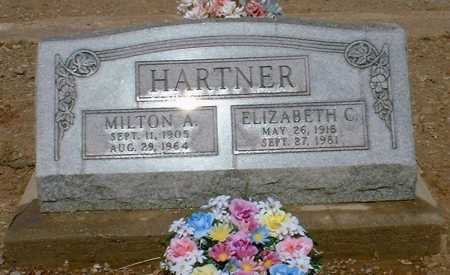 HARTNER, ELIZABETH C. - Greenlee County, Arizona | ELIZABETH C. HARTNER - Arizona Gravestone Photos