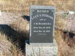 HENDRICKS, LUCY S. - Greenlee County, Arizona | LUCY S. HENDRICKS - Arizona Gravestone Photos