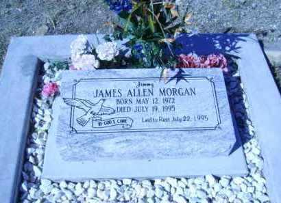 MORGAN, JAMES ALLEN - Greenlee County, Arizona | JAMES ALLEN MORGAN - Arizona Gravestone Photos