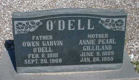 O'DELL, ANNIE PEARL - Greenlee County, Arizona | ANNIE PEARL O'DELL - Arizona Gravestone Photos