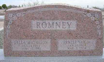 ROMNEY, DELLA - Greenlee County, Arizona | DELLA ROMNEY - Arizona Gravestone Photos
