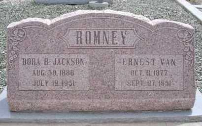 JACKSON ROMNEY, DORA B. - Greenlee County, Arizona | DORA B. JACKSON ROMNEY - Arizona Gravestone Photos