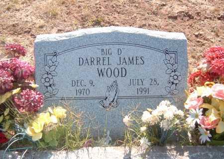 WOOD, DARREL JAMES - Greenlee County, Arizona | DARREL JAMES WOOD - Arizona Gravestone Photos