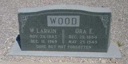 WOOD, WILLIAM LARKIN - Greenlee County, Arizona | WILLIAM LARKIN WOOD - Arizona Gravestone Photos