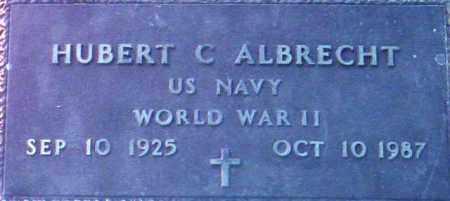 ALBRECHT, HUBERT CHARLES - Maricopa County, Arizona | HUBERT CHARLES ALBRECHT - Arizona Gravestone Photos