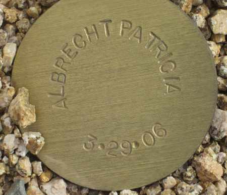 ALBRECHT, PATRICIA - Maricopa County, Arizona | PATRICIA ALBRECHT - Arizona Gravestone Photos