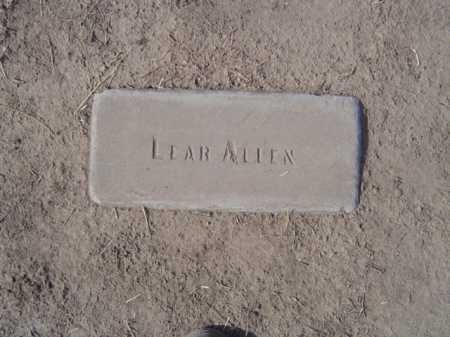 ALLEN, LEAR VERLETTA - Maricopa County, Arizona | LEAR VERLETTA ALLEN - Arizona Gravestone Photos