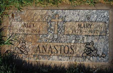 ANASTOS, ALEX - Maricopa County, Arizona | ALEX ANASTOS - Arizona Gravestone Photos