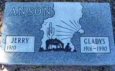 ANSON, GLADYS R. - Maricopa County, Arizona | GLADYS R. ANSON - Arizona Gravestone Photos