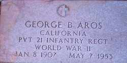 AROS, GEORGE BARCELO - Maricopa County, Arizona | GEORGE BARCELO AROS - Arizona Gravestone Photos