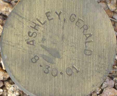 ASHLEY, GERALD - Maricopa County, Arizona | GERALD ASHLEY - Arizona Gravestone Photos