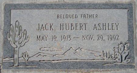 ASHLEY, JACK HUBERT - Maricopa County, Arizona   JACK HUBERT ASHLEY - Arizona Gravestone Photos