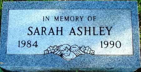 ASHLEY, SARAH - Maricopa County, Arizona | SARAH ASHLEY - Arizona Gravestone Photos
