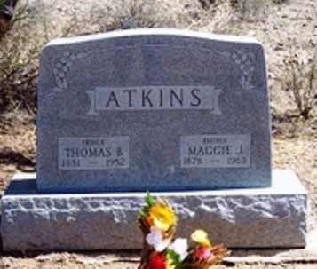ATKINS, THOMAS B. - Maricopa County, Arizona | THOMAS B. ATKINS - Arizona Gravestone Photos
