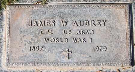 AUBREY, JAMES W. - Maricopa County, Arizona | JAMES W. AUBREY - Arizona Gravestone Photos