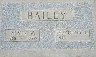 BAILEY, ALVIN W - Maricopa County, Arizona | ALVIN W BAILEY - Arizona Gravestone Photos