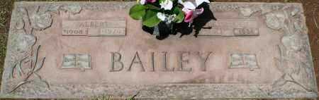 BAILEY, ALBERT - Maricopa County, Arizona | ALBERT BAILEY - Arizona Gravestone Photos