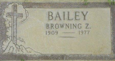 BAILEY, BROWNING Z - Maricopa County, Arizona | BROWNING Z BAILEY - Arizona Gravestone Photos