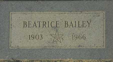 BAILEY, BEATRICE - Maricopa County, Arizona   BEATRICE BAILEY - Arizona Gravestone Photos