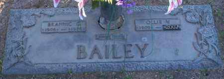 BAILEY, OLLIE V - Maricopa County, Arizona | OLLIE V BAILEY - Arizona Gravestone Photos