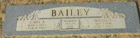 BAILEY, MABEL E. - Maricopa County, Arizona | MABEL E. BAILEY - Arizona Gravestone Photos