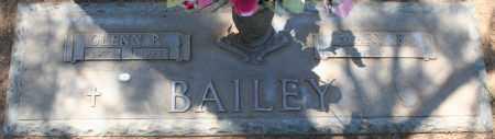 BAILEY, GLENN R. - Maricopa County, Arizona | GLENN R. BAILEY - Arizona Gravestone Photos