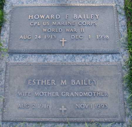BAILEY, ESTHER M - Maricopa County, Arizona | ESTHER M BAILEY - Arizona Gravestone Photos