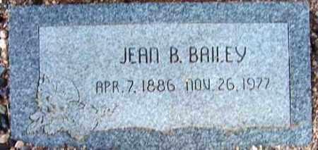 BAILEY, JEAN B. - Maricopa County, Arizona | JEAN B. BAILEY - Arizona Gravestone Photos