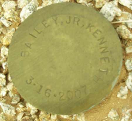 BAILEY, KENNETH, JR - Maricopa County, Arizona   KENNETH, JR BAILEY - Arizona Gravestone Photos